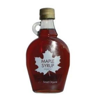 БИО Кленов сироп градус А 250мл СМАРТ ОРГАНИК | ORGANIC Maple syrup A 250ml SMART ORGANIC