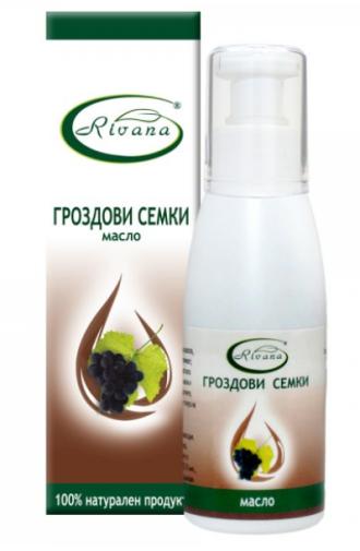 РИВАНА Масло от ГРОЗДОВИ СЕМКИ 100мл | RIVANA GRAPE SEEDS Oil 100ml