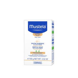МУСТЕЛА Нежен сапун с подхранващ колд крем 100гр | MUSTELA Gentle soap with cold cream 100g