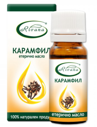 РИВАНА Етерично масло от КАРАМФИЛ 10мл | RIVANA EUGENIA CARYOPHYLLATA Essential oil 10ml