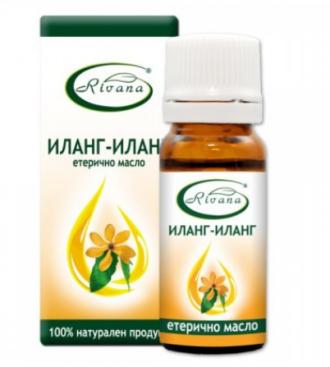 РИВАНА Етерично масло от ИЛАНГ - ИЛАНГ 10мл | RIVANA CANANGA ODORATA Essential oil 10ml