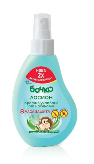 БОЧКО Спрей-лосион против ухапване от насекоми 1+ 120мл | BOCHKO Anti-bug spray-lotion 1+ 120ml