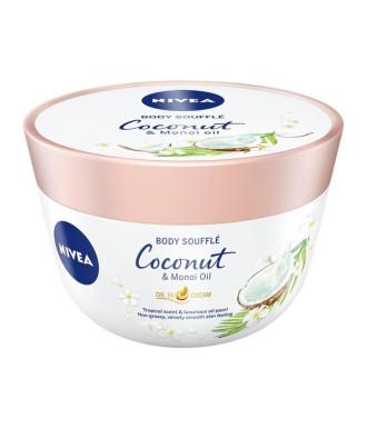 НИВЕА СЕНСЕС Суфле за тяло с аромат на кокос и масло от моной 200мл | NIVEA SENSES Coconut & Monoi oil body souffle 200ml