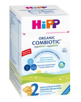 ХИП 2 КОМБИОТИК Био преходно мляко за кърмачета 800гр | HIPP 2 COMBIOTIC Bio follow on infant milk 800g