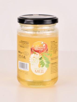 Акациев пчелен мед 400гр СЪНИ ХЪНИ | Acacia Bee Honey 400g SUNNY HONEY