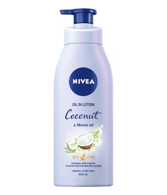 НИВЕА СЕНСЕС Лосион за тяло с аромат на кокос и масло от моной 400мл | NIVEA SENSES Coconut & Monoi oil body lotion 400ml