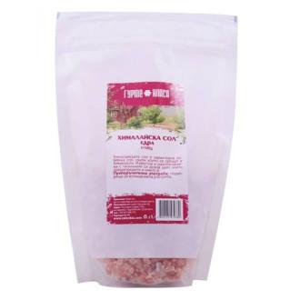 Сол, Хималайска Розова, едра, дойпак 500гр ГУРМЕ КЛАСА | Himalayan pink salt, coarse, doypack 500g GURME KLASA