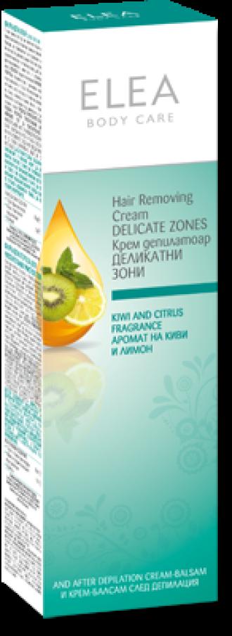 ЕЛЕА Крем депилатоар за Деликатни зони 120мл | ELEA Hair removing cream Delicate zones 120ml