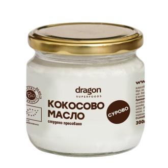 БИО Кокосово масло 100мл, 300мл или 1л ДРАГОН СУПЕРФУУДС | BIO Coconut oil unscented 100ml, 300ml or 1l DRAGON SUPERFOODS