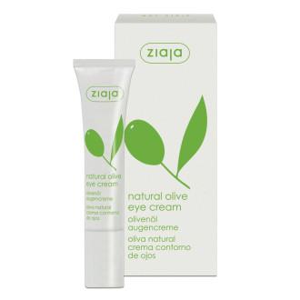 ЖАЯ Околоочен крем с маслина 15мл | ZIAJA Natural olive eye cream 15ml