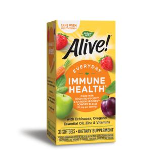 АЛАЙВ Имунна защита 30бр. софтгел капсули НЕЙЧЪР'С УЕЙ | ALIVE Immune health 30s softgels NATURE'S WAY
