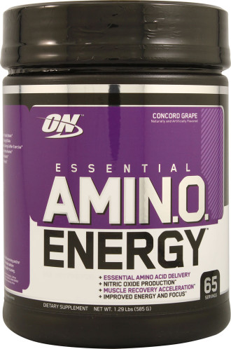 АМИНО ЕНЕРДЖИ – ГРОЗДЕ прах 590г ОПТИМУМ НУТРИШЪН | AMINO ENERGY – GRAPE pwd 590g OPTIMUM NUTRITION