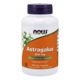АСТРАГАЛУС 500мг капсули 100 бр. НАУ ФУУДС | ASTRAGALUS 500mg caps 100s NOW FOODS