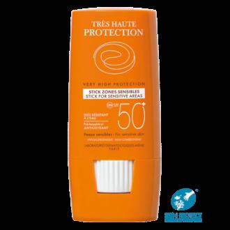 АВЕН СЪН Слънцезащитен стик за чувствителни зони SPF50+ 8гр | AVENE SUN Very high protection stick for sensitive areas SPF50+ 8g