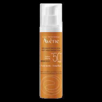 АВЕН СЪН Слънцезащитен тониран флуид SPF50+ 50мл | AVENE SUN Very high protection tinted fluid SPF50+ 50ml