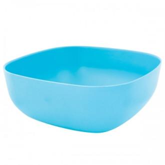 ЕКО КУПА ОТ БАМБУК КВАДРАТНА Синя, размери БАЛЕВ БИО | ECO BAMBOO SQUARE BOWL Blue, sizes BALEV BIO