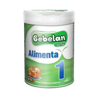 БЕБЕЛАН ЛАКТА АЛИМЕНТА 1 Мляко за кърмачета 0-6 м. 400гр.   BEBELAN LACTA ALIMENTA 1 Infant formula 0-6 m 400g