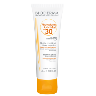 БИОДЕРМА ФОТОДЕРМ Акн мат SPF30 40мл | BIODERMA PHOTODERM Akn mat SPF30 40ml
