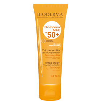 БИОДЕРМА ФОТОДЕРМ Макс крем тенте SPF50+ 40мл | BIODERMA PHOTODERM Max cream tinted SPF50+ 40ml