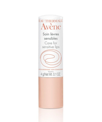 АВЕН Грижа за чувствителни устни - стик 4гр   AVENE Care for sensitive lips stick 4gr