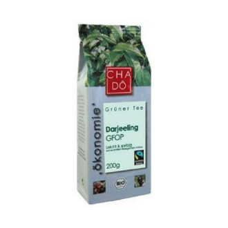 ЧА ДО БИО Зелен чай Darjeeling 200гр | CHA DO BIO Green tea Darjeeling 200g