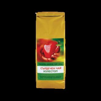 "Сърдечен чай ""Холестерол"", насипен 120гр ЛУКС БИОХЕРБА   Tea for the heart ""Cholesterol"", loose 120g LUXE BIOHERBA"