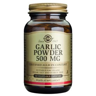ЧЕСЪН 500мг растителни капсули 90 бр. СОЛГАР | GARLIC 500mg veg.capsules 90s SOLGAR