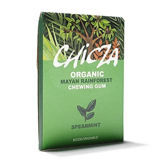 БИО Дъвка с Градинска Мента 30гр ЧИКЗА | ORGANIC Mayan rainforest chewing gum Spearmint 30g CHICZA