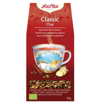 "ЙОГИ ОРГАНИК БИО Аюрведичен чай ""Класик"", насипен 90гр   YOGI ORGANIC BIO Ayurvedic tea blend ""Classic"" loose 90g"
