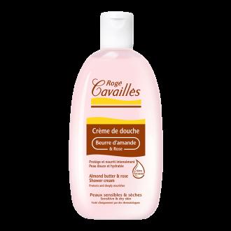 РОЖЕ КАВАЙЕ Душ крем с масло от роза и бадем 250мл | ROGE CAVAILLES Almond butter & rose shower cream 250ml