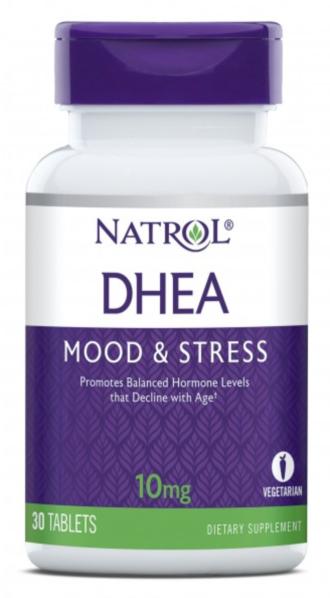 ДХЕА 10 мг. 30 таблетки НАТРОЛ | DHEA 10 mg 30 tabs NATROL