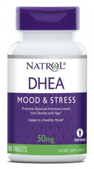 ДХЕА 50 мг. 60 таблетки НАТРОЛ | DHEA 50 mg 60 tabs NATROL