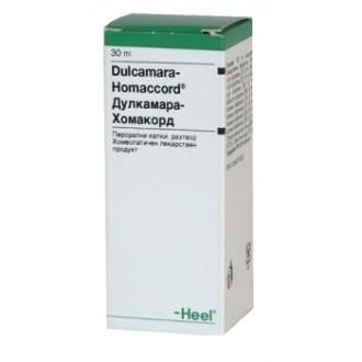 ДУЛКАМАРА-ХОМАКОРД перорални капки, разтвор 30мл. | DULCAMARA-HOMACCORD oral drops, solution 30ml