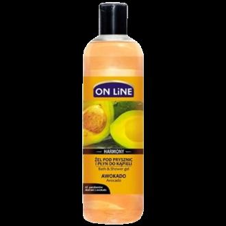 Душ гел с масло от Авокадо 500мл ОН ЛАЙН   Shower gel and bath with Avocado oil 500ml ON LINE