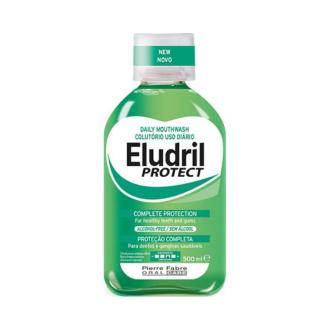 Вода за уста ЕЛУДРИЛ ПРОТЕКТ 500мл | Mouthwash ELUDRIL PROTECT 500ml