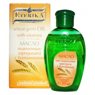 ЕТЕРИКА Масло от ПШЕНИЧЕН ЗАРОДИШ, обогатено с витамин А, Е, D и F 55мл. | ETERIKA WHEAT GERM oil with vitamin A, E, D and F 55ml