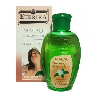 ЕТЕРИКА Стимулант за мазна коса 55мл.   ETERIKA Oily hair stimulant 55ml
