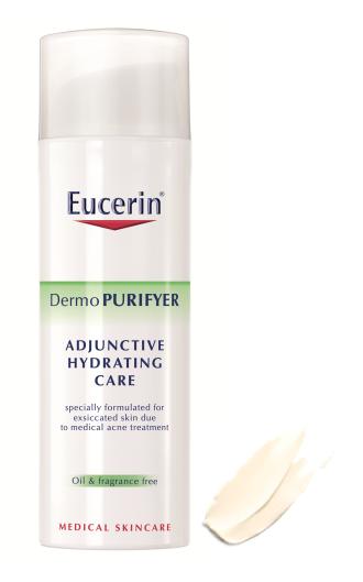 ЮСЕРИН ДЕРМОПУРИФЕЪР Интензивен хидратиращ крем за акнеична кожа SPF 30 50мл | EUCERIN DERMOPURIFYER Intensive hydrating face cream for blemish prone skin with SPF 30 50ml