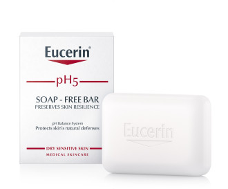 ЮСЕРИН pH5 Сапун 100гр   EUCERIN pH5 Bar soap 100g