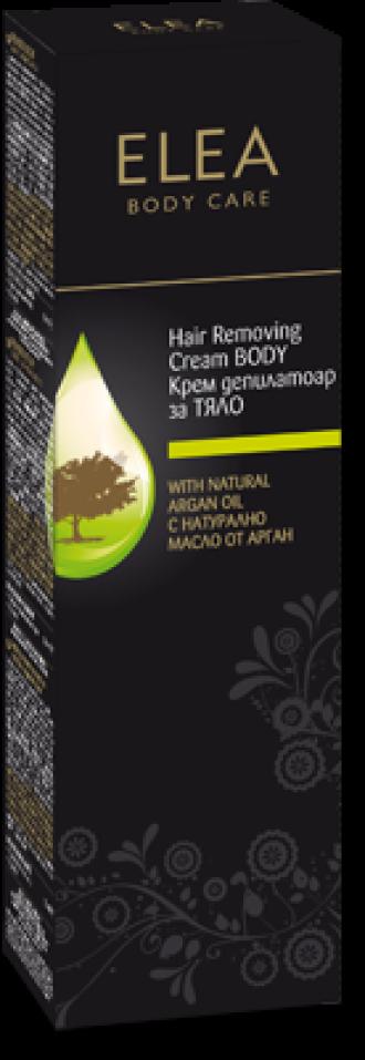 ЕЛЕА Крем депилатоар с Арганово масло 120мл | ELEA Hair removing cream with Argan oil 120ml