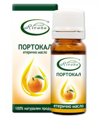 РИВАНА Етерично масло от ПОРТОКАЛ 10мл | RIVANA CITRUS SINENSIS Essential oil 10ml