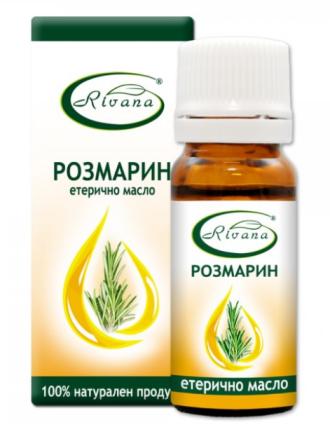 РИВАНА Етерично масло от РОЗМАРИН 10мл | RIVANA ROSMARINUS OFFICINALIS Essential oil 10ml