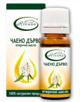 РИВАНА Етерично масло от ЧАЕНО ДЪРВО 10мл | RIVANA MELALEUCA ALTERNIFOLIA Essential oil 10ml