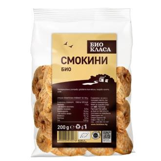 БИО Сушени смокини 200гр БИО КЛАСА | BIO Dried figs 200g BIO KLASA