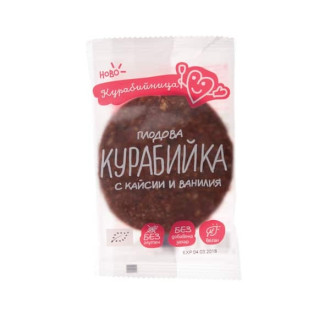 КУРАБИЙНИЦА БИО Плодова курабийка с Кайсии и Ванилия 1бр 40гр. | KURABIINICA BIO Fruit cookie with Apricots and Vanilla 1s 40g