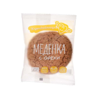 КУРАБИЙНИЦА БИО Меденка с Орехи 1бр 60гр. | KURABIINICA BIO Gingerbread with Walnuts 1s 60g