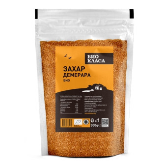 БИО Захар Демерара 300гр БИО КЛАСА | BIO Demerara sugar 300g BIO KLASA