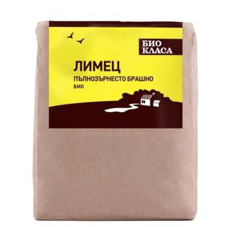 БИО Пълнозърнесто брашно от Лимец 500гр БИО КЛАСА | BIO Wholegrain Spelled flour 500g BIO KLASA