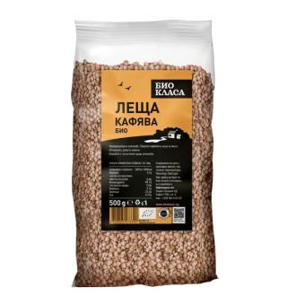 БИО Леща кафява 500гр БИО КЛАСА | BIO Brown lentil 500g BIO KLASA