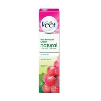 ВИЙТ Депилатоар за тяло с Масло от гроздови семки 100мл | VEET Hair removal cream Natural inspirations with Grape seed oil 100ml